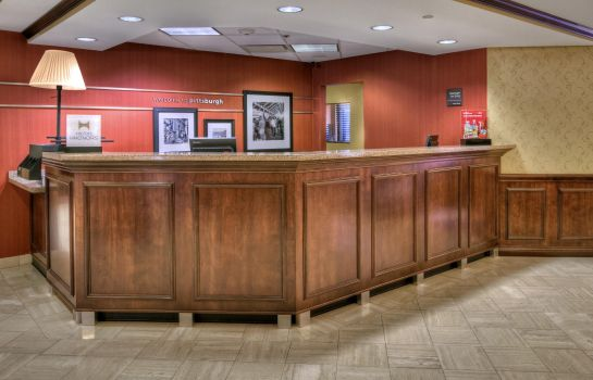 Hotelhalle Hampton Inn Pittsburgh-West Mifflin