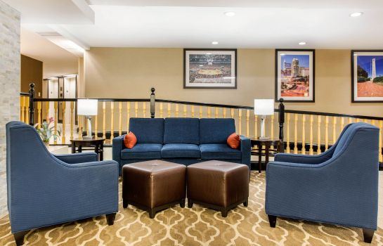 Hotelhalle Comfort Inn & Suites Crabtree Valley