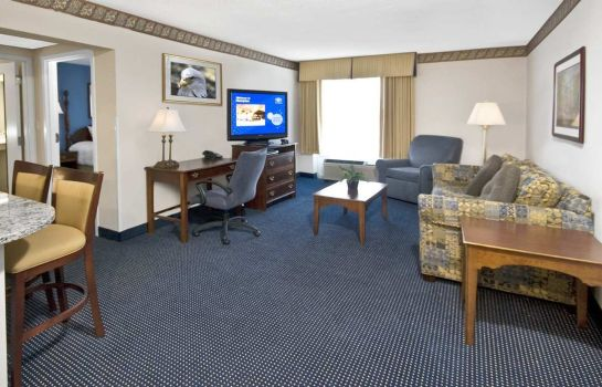 Suite Hampton Inn - Suites Raleigh-Cary I-40 -PNC Arena- NC