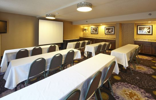 Conference room Hampton Inn Raleigh Midtown NC
