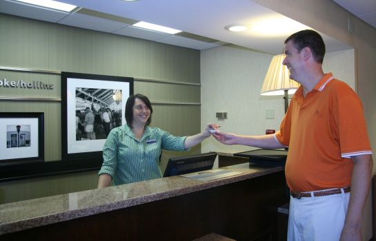 Hotelhalle Hampton Inn Roanoke-Hollins-I-81