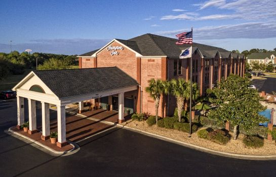 Außenansicht Hampton Inn Savannah-I-95-North