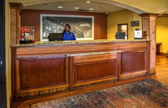 Hotelhalle Hampton Inn Savannah-I-95-North
