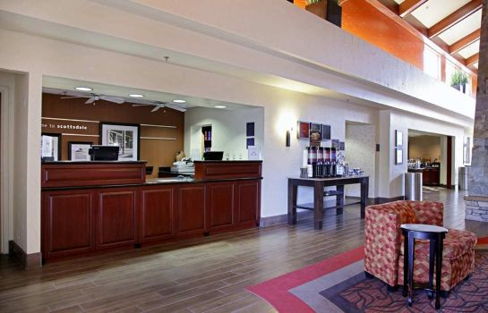 Hotelhalle Hampton Inn - Suites Scottsdale