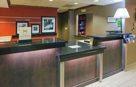 Lobby Hampton Inn - Suites Tulsa-Woodland Hills 71st-Memorial