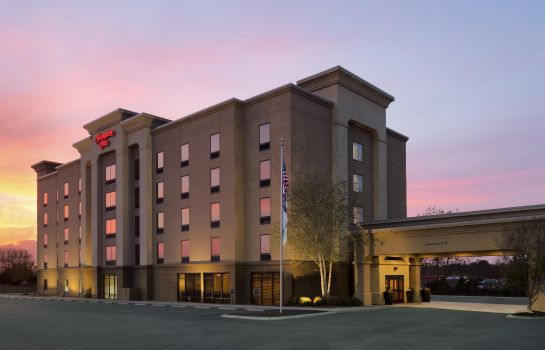 Außenansicht Hampton Inn Knoxville-East