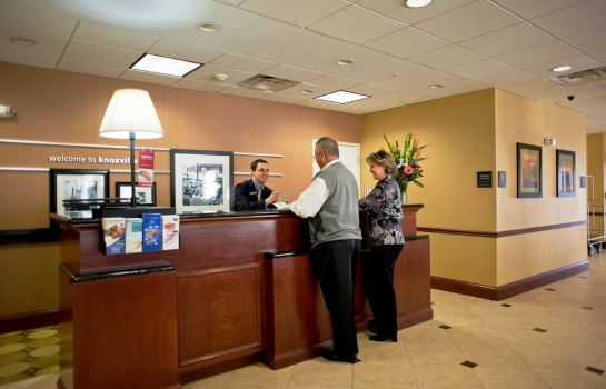 Hotelhalle Hampton Inn Knoxville-East