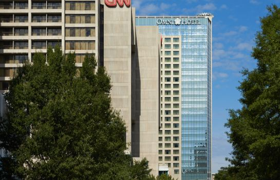 Außenansicht Omni Atlanta Hotel at CNN Center