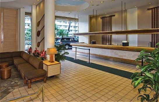 Hotelhalle Holiday Inn Express WAIKIKI