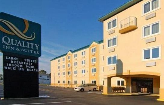 Vista exterior Quality Inn and Suites Rehoboth Beach -