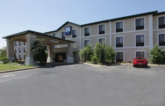 Vista esterna Lexington Suites of Jonesboro