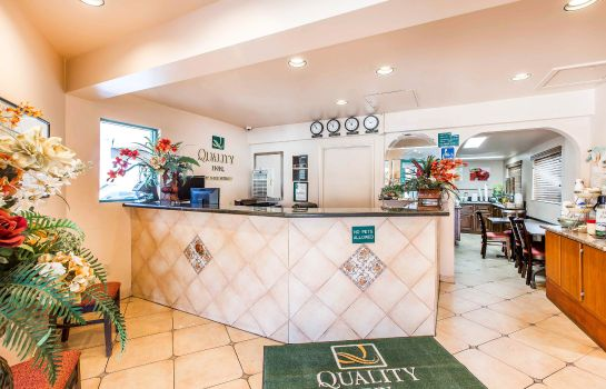 Hotelhalle Quality Inn Burbank Airport