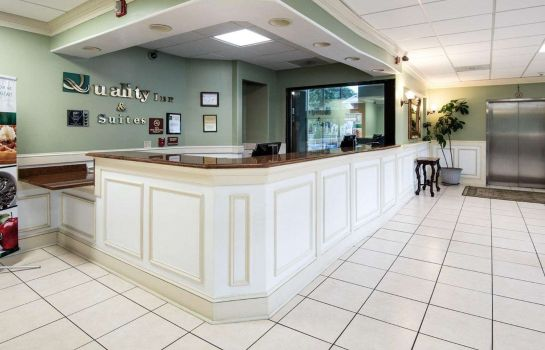 Vestíbulo del hotel Quality Inn and Suites Rehoboth Beach -