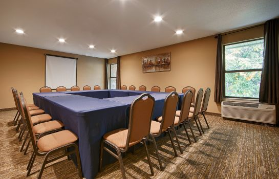 Conference room BEST WESTERN HISTORIC FREDERIC