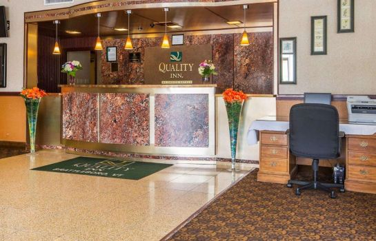 Lobby Quality Inn & Conference Center