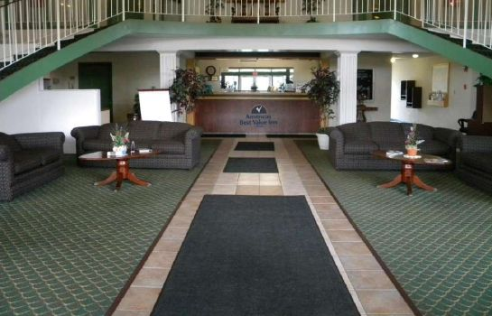 Lobby Americas Best Value Inn Erie