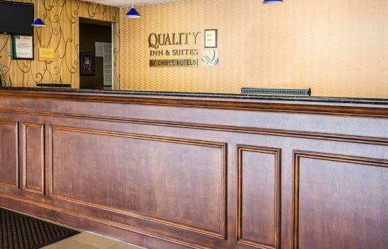 Hotelhalle Quality Inn and Suites Airpark East