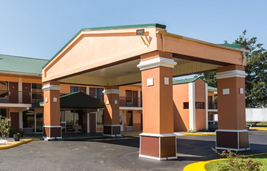 Außenansicht Econo Lodge Decatur