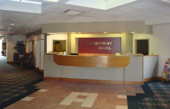 Recepcja Americourt Extended Stays