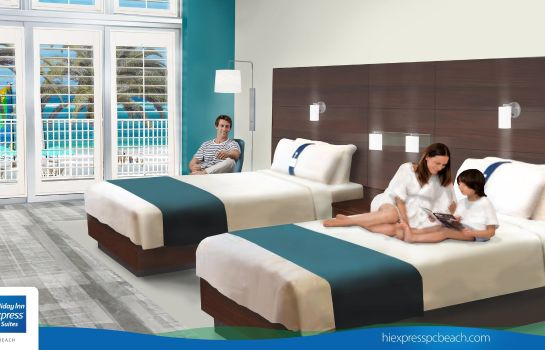 Zimmer Holiday Inn Express & Suites PANAMA CITY BEACH - BEACHFRONT