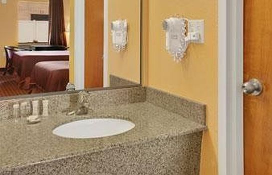 Cuarto de baño Howard Johnson Inn Rock Hill