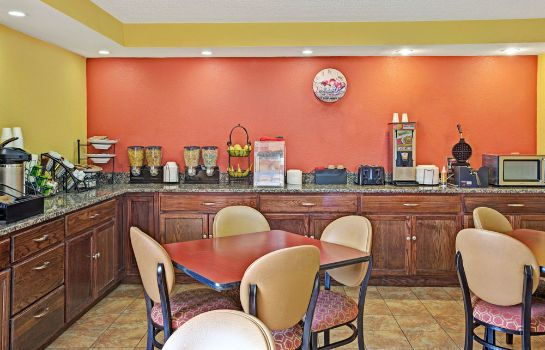 Sala de desayuno Howard Johnson Inn Rock Hill
