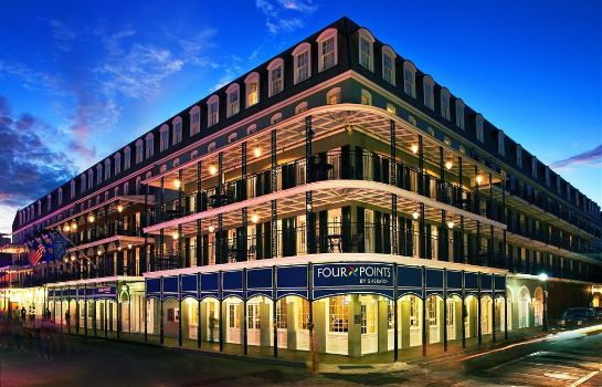 Buitenaanzicht Four Points by Sheraton French Quarter