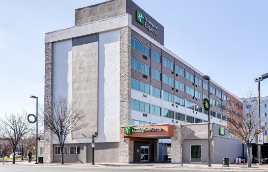 Außenansicht Holiday Inn Express WASHINGTON DC N-SILVER SPRING
