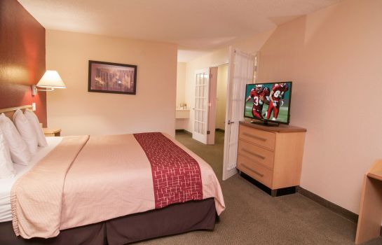 Chambre Red Roof Suites Pensacola East-Milton