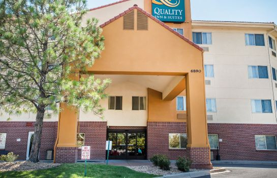 Vista esterna Quality Inn & Suites Denver International Airport