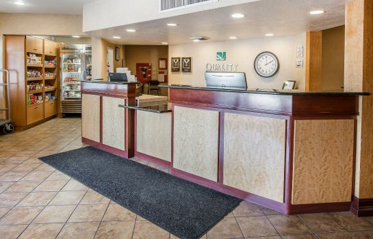 Hotelhalle Quality Inn & Suites Denver International Airport