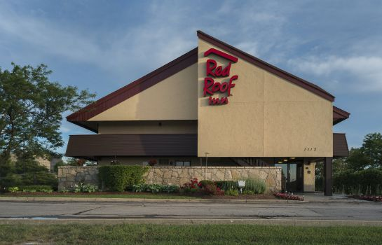 Buitenaanzicht Red Roof Inn Chicago - Downers Grove
