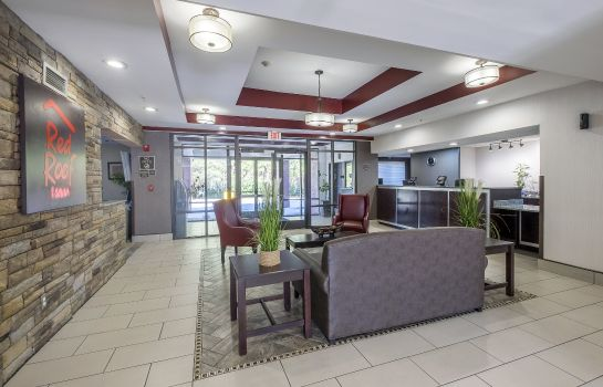 Hotelhalle Red Roof Inn and Suites Savannah Airport