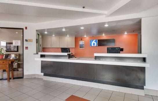 Lobby MOTEL 6 BROWNSVILLE