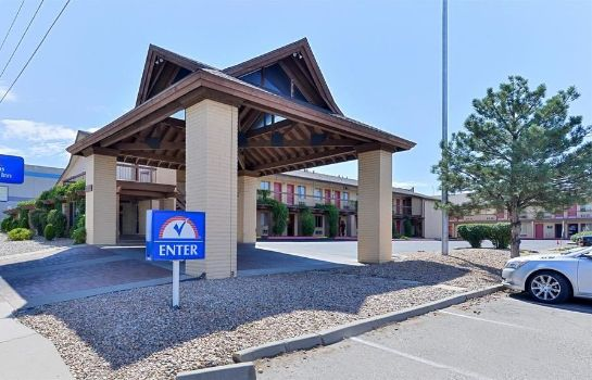 Vista esterna Americas Best Value Inn - Midtown Albuquerque