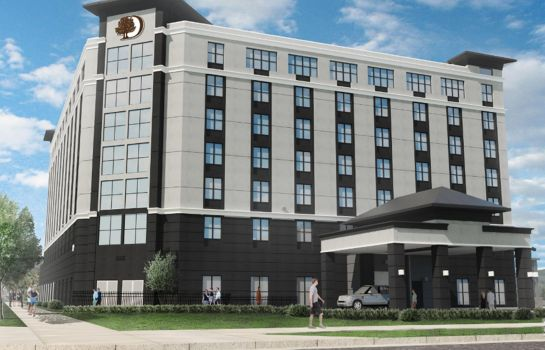 Buitenaanzicht DoubleTree by Hilton Boston Logan Airport Chelsea