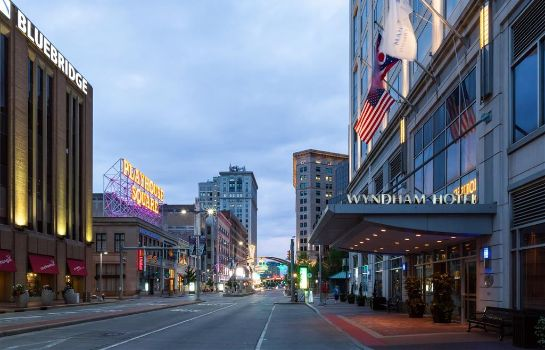 Vista esterna Crowne Plaza CLEVELAND AT PLAYHOUSE SQUARE