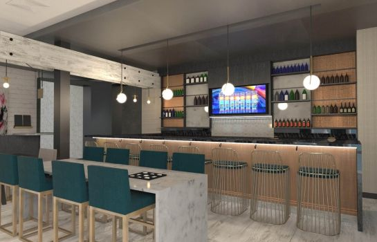 Hotel bar DoubleTree by Hilton Boston Logan Airport Chelsea