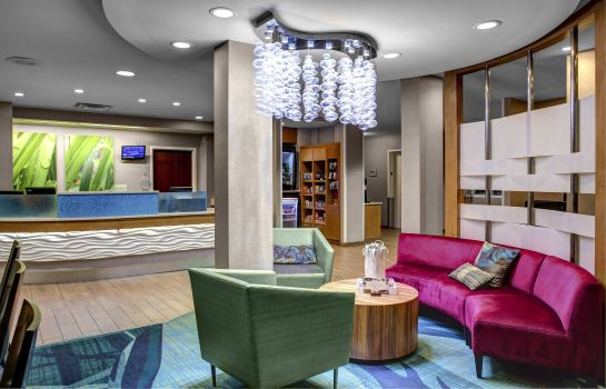 Hol hotelowy SpringHill Suites Columbus Airport Gahanna