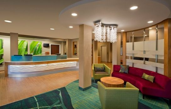 Hotelhalle SpringHill Suites Columbus Airport Gahanna