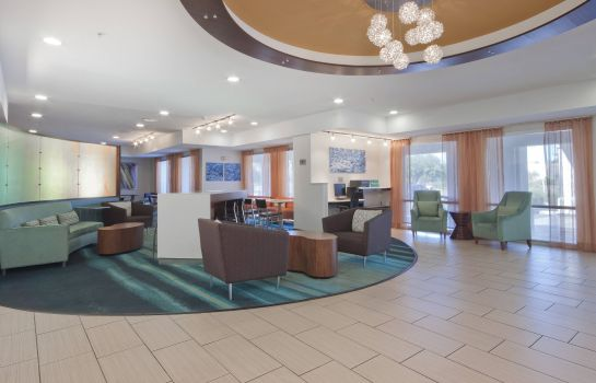 Vestíbulo del hotel SpringHill Suites Phoenix Chandler/Fashion Center