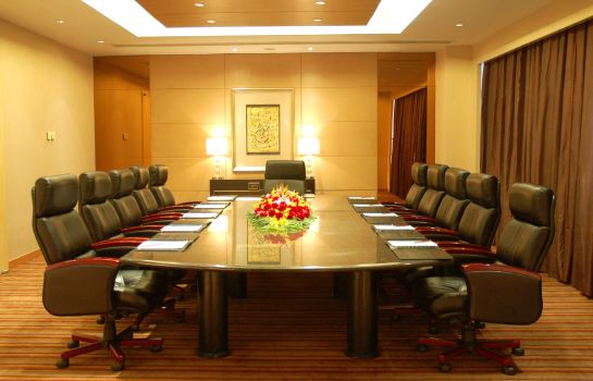 Conference room Hainan Junhua Haiyi Hotel Formerly Meritus Mandarin Haikou