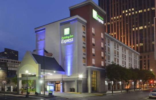 Außenansicht Holiday Inn Express NEW ORLEANS DOWNTOWN