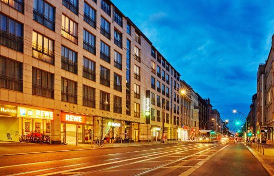 Exterior view H+ Hotel Berlin Mitte