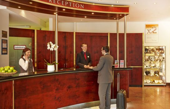 Reception H+ Hotel Berlin Mitte (ehemals Ramada)