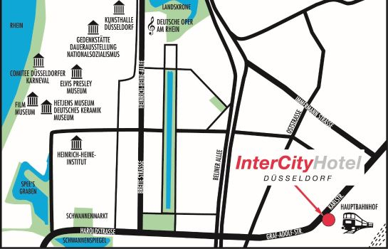 How to find us IntercityHotel