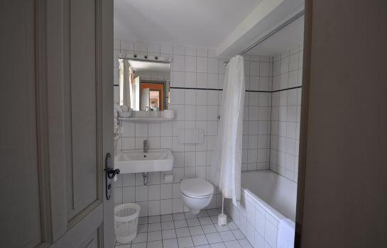 Badezimmer Schloss Buttenheim Landhotel