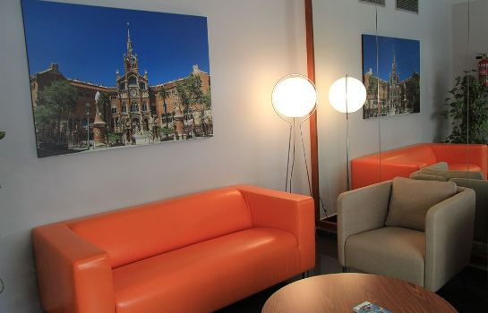 Vista all'interno H·TOP BCN City Hotel