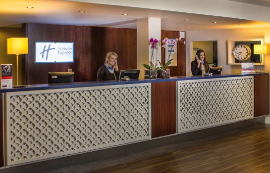 Hotelhalle DOCKLANDS Holiday Inn Express LONDON-ROYAL DOCKS