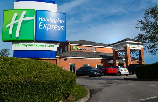 Vista exterior Holiday Inn Express MANCHESTER - EAST